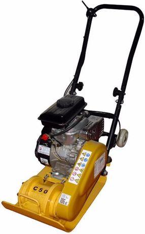 Placa Compactadora a Gasolina c/ base 430x310mm Área Compact. 350m2/h