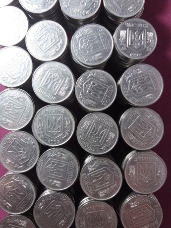 Монета Украины 5 копеек 1992 год