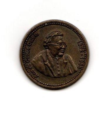 Medalha Bronze de Ana de Castro Osório