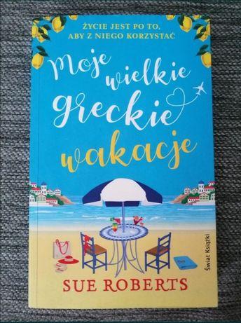 Nowa Sue Roberts Moje wielkie greckie wakacje