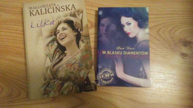 """""""Lilka"""" Małgorzata Kalicińska """"W blasku diamentów"""" Anna Davis"""