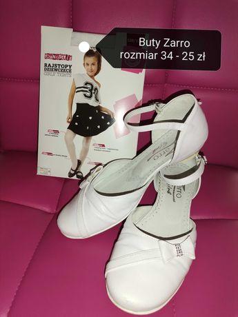 Buty białe /komunijne rozmiar 34