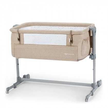 Приставне ліжечко Kinderkraft Neste Up Beige Melange