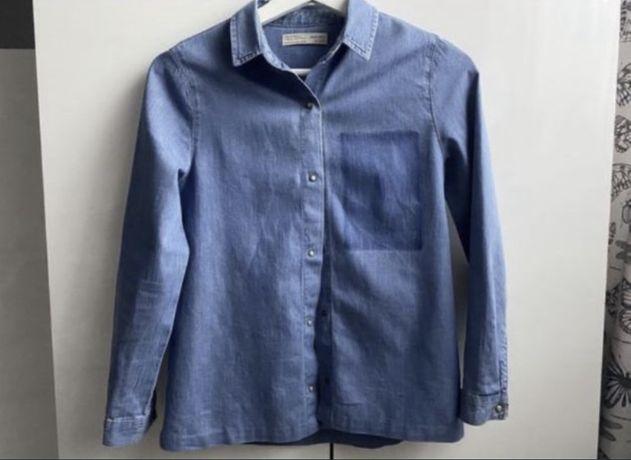 Jeansowa koszula dziecięca