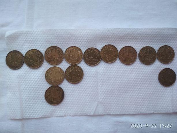 Гетьман - монети
