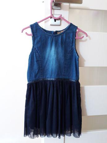Sukienka dżinsowa, coolclub, rozmiar 116