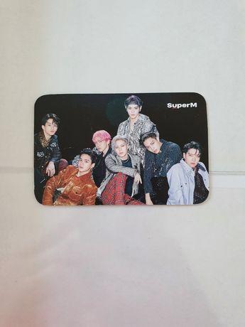 Superm us tour photocard kpop