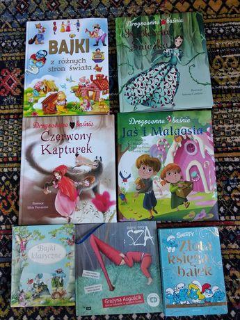 Bajki dla dzieci zestaw kolekcja Disney, Bajki klasyczne, Baśnie