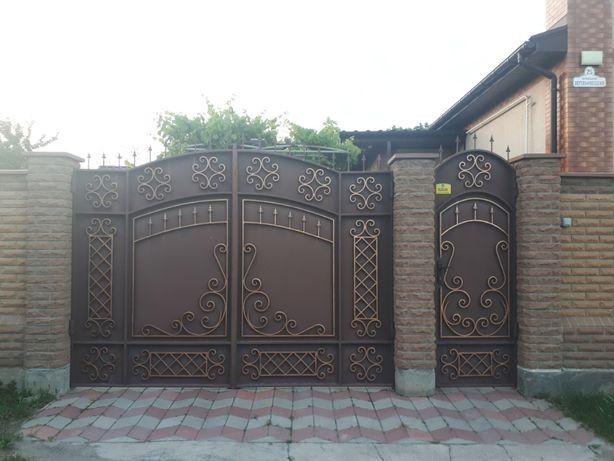 Ворота, заборы, решетки, лестницы, двери на заказ