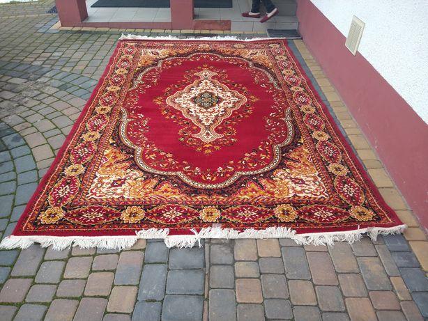 Wełniany dywan PRL numer 497 stan idealny 3*2m 300*200