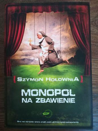 Książka: Monopol na zbawienie, Szymon Hołownia, jak nowa!