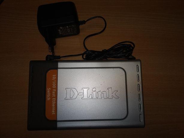Коммутатор (свитч) D-Link DES-1008d