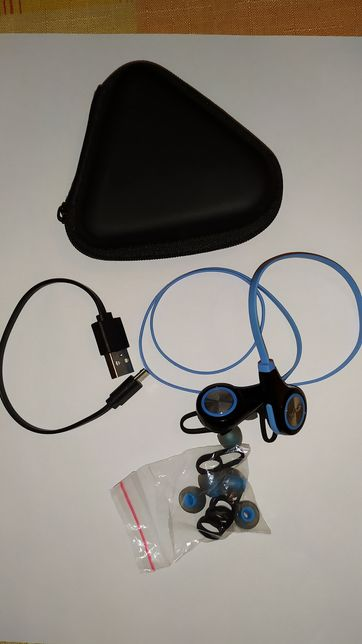 Продам наушники Protech Wireless Sport Blue