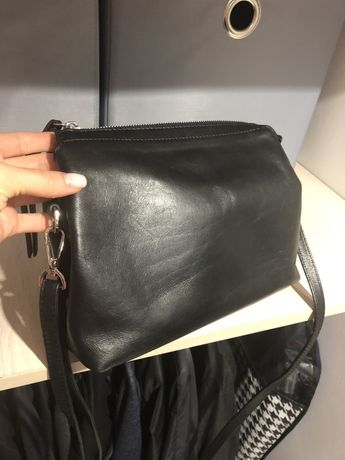Шкіряна жіноча сумочка