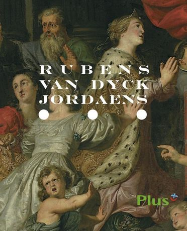 Album Rubens, Van Dyck, Jordaens. Malarstwo flamandzkie.