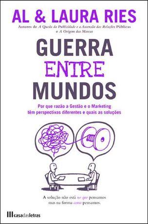 """Livro - """"Guerra entre Mundos"""" - Gestão e Marketing - AL & Laura Reis"""