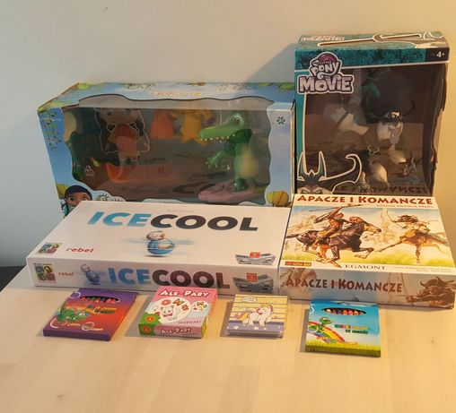 Zestaw nowych zabawek ! 4 zabawki + 4 prezenty . Okazja !