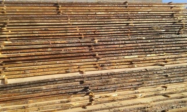 Лесоматериалы, необрезная доска строительная, 40мм. Пилорама
