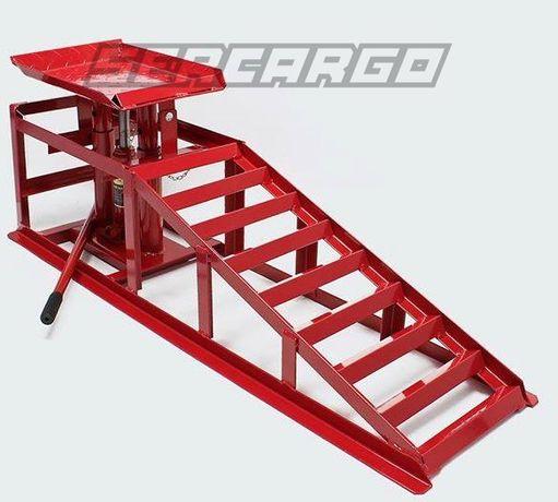 (2x)Rampas elevatórias Auto hydraulicas