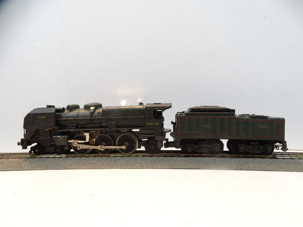 lokomotywa parowóz Jouef 231C60 skala H0 uszkodzony 131