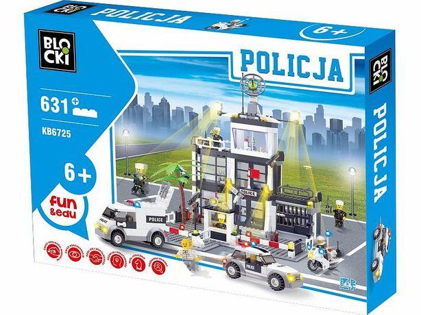 Klocki BLOCKI POLICJA Komisariat Policji 631el. KB6725
