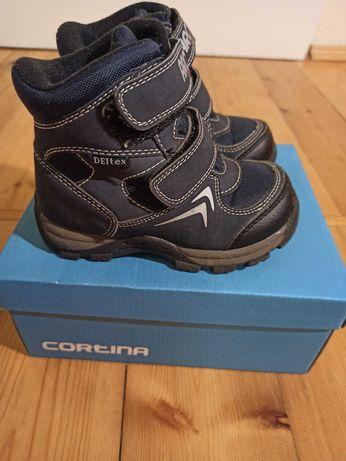 Buty zimowe Cortina, 24, jak nowe!
