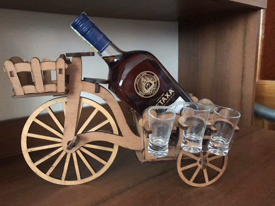 Підставка подарункова для алкоголю Журавно - изображение 1