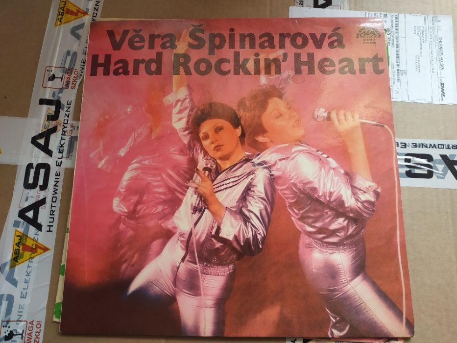 Hard Rockin' Heart - Vera Spinarova płyta winylowa Tarczyn - image 1