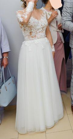 Suknia Ślubna L'amour - długi rękaw