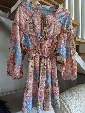 Piękna Sukienka Lila Lou wesele chrzest 36 36/38
