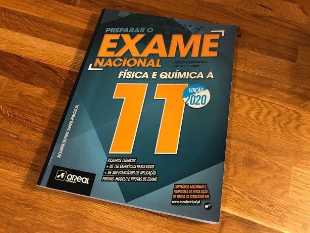 Preparar o Exame Nacional Física e Química A, Areal Editores, 11.º ano