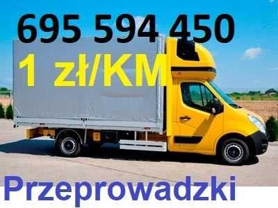 Przeprowadzki / Transport - MIĘDZYMIASTOWE / ZAGRANICZNE