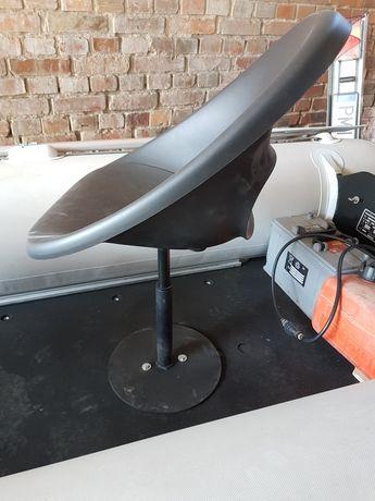 fotel siedzisko na łódź łódke ponton spining sum kapitański