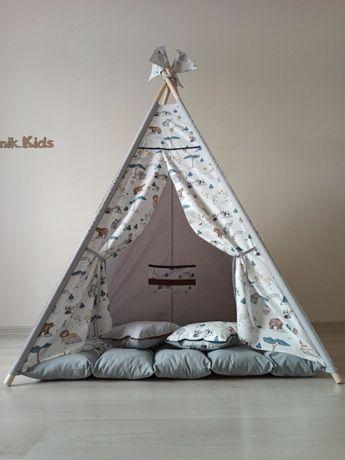 Отличный прдарок для вашего ребенка. Детская палатка вигвам!