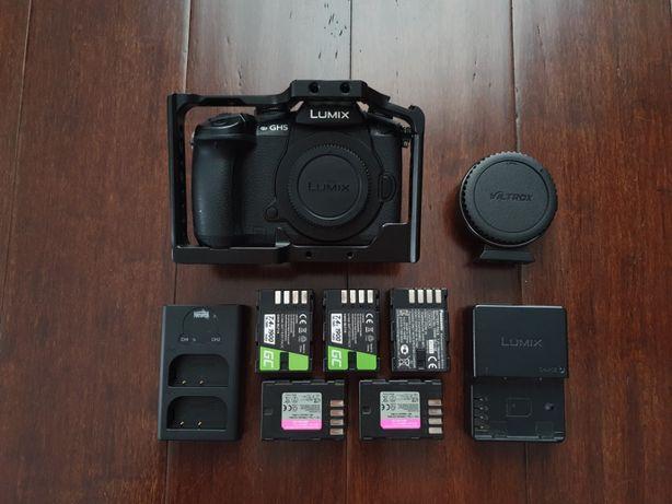 Panasonic Lumix GH5 V-LOG + akcesoria