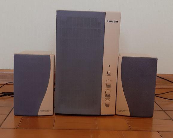 Głośniki komputerowe Samsung.
