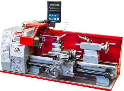 Torno mecânico p/ metal marca austríaca 400 mm entre pontos c/ visor