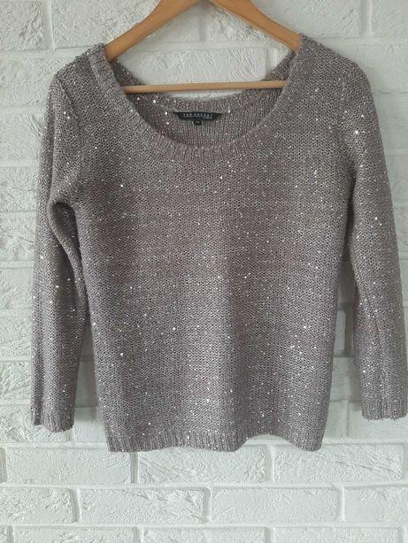 Sweter Top Secret 36/38 święta cekiny