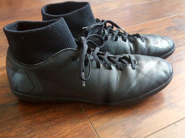 Korki Nike  półkorki Merculial ze skarpetą  czarne roz 44