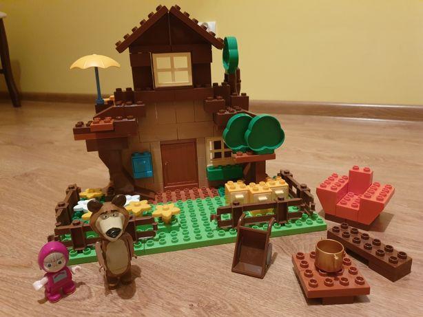 Klocki lego Domek Niedźwiedzia i Maszy PlayBig Bloxx