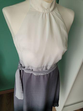 Suknia ombre wiązana