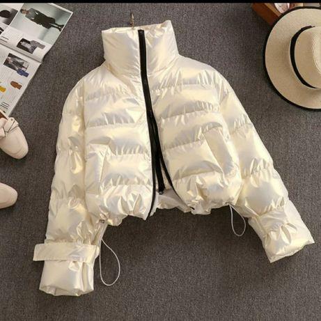 Куртка дутая атласная