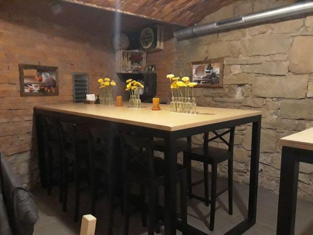 Duży stół, industrialny, loft, rustykalny
