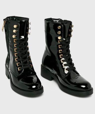Guess - skórzane buty ZELDA rozm 37 . stan jak nowe.  zimowe