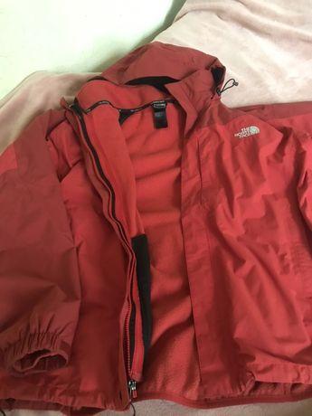 Зимняя куртка the north face HyVent пуховик подклад tnf тнф парка зима