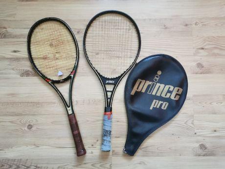 Zestaw dwie rakiety tenis/sqash: Prince Pro oraz fin Venom (komplet)