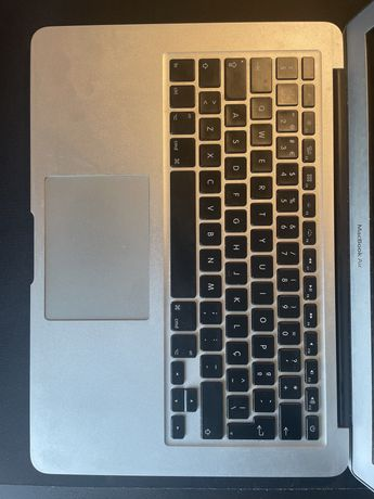 Bottom case MacBook air 13 teclado trackpad