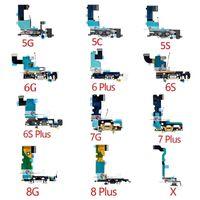  Flex Conector de Carga / Dock / iPhone 5S/6/6S/7/8/X/XS/XR/11 Plus