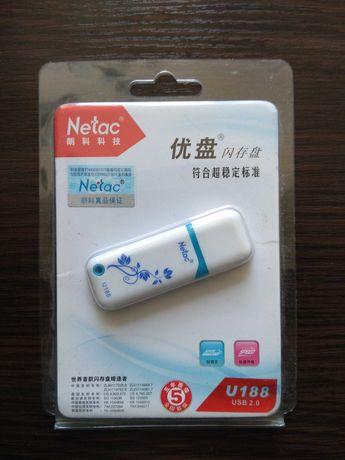новая фирменная USB флешка Netac 8 ГБ