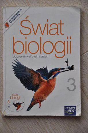 Świat biologii 3 Podręcznik do gimnazjum + płyta nowa